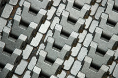 Metal components Royalty Free Stock Image