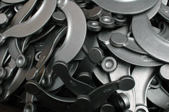 Metal components. For vehicles royalty free stock images