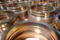 Metal components. For vehicles royalty free stock photography