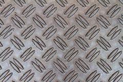 Metal con el corrugación Imagen de archivo libre de regalías