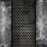 Metal and concrete Stock Photos