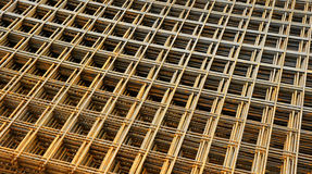 Metal concrete forms. A background of metal concrete forms Royalty Free Stock Photography
