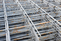 Metal Concrete Reinforcing Rods Royalty Free Stock Image