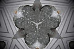 Metal condensation mandala pattern stock illustration
