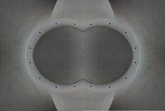 Metal congelado Ilustración del Vector