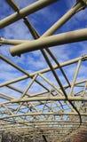 Metal a construção Fotos de Stock Royalty Free