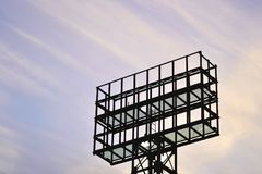 Metal construction Royalty Free Stock Photography