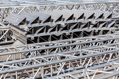 Metal construction Royalty Free Stock Image