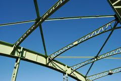 Metal construction Stock Photography
