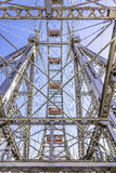 Metal construction ferris wheel Vienna Royalty Free Stock Photography