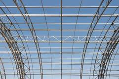Metal construction framework background Royalty Free Stock Images