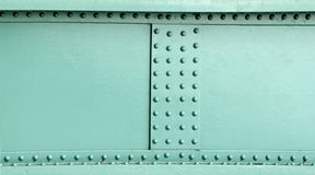 Metal construction rivets Royalty Free Stock Image