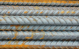 Metal construction rods. Royalty Free Stock Photo