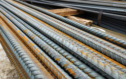 metal construction rods. Royalty Free Stock Photos