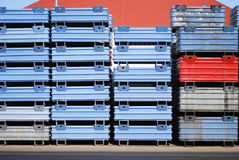 Metal container Stock Photos