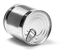 Metal container Stock Image