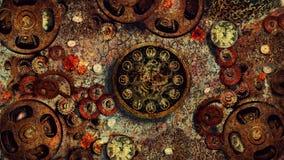 Metal CONTRA el tiempo 2 Fotografía de archivo
