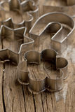 Metal cookie cutters Stock Photo