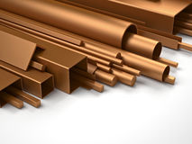 Metal copper part Royalty Free Stock Photo