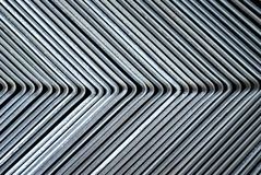 Metal corner background Royalty Free Stock Photography