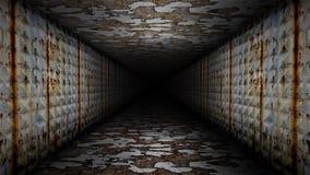 Metal Corridor Loop. Metal 6 seconds Corridor Loop video stock footage