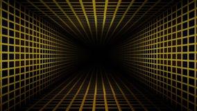 Metal Corridor Loop. 8 seconds Metal Corridor loop video. You can make eternal corridor with this loop video stock video