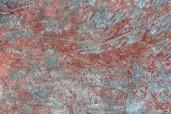 Metal corroded painted rusty grungy texture background. Abstract background Royalty Free Stock Photos