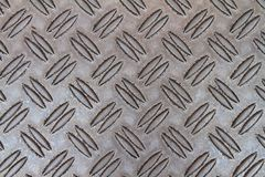 Metal with corrugation Royalty Free Stock Image