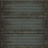 Metal cover (Seamless texture) Royalty Free Stock Photo