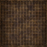 Metal cover (Seamless texture) Stock Photo