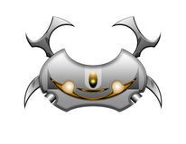 Metal crab Stock Image