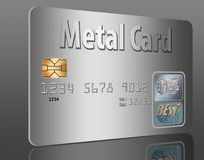 Free Metal Credit Card. Stock Photos - 125494733