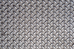 Metal Cross Grid Texture Stock Images