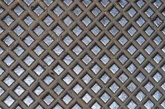 Metal Cross Grid Texture Royalty Free Stock Image
