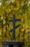 Metal cross Stock Photography