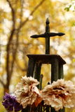 Metal cross Royalty Free Stock Images