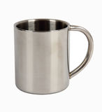 Metal cup stock photos