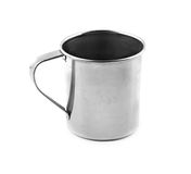 Metal cup Royalty Free Stock Image