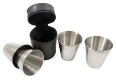 Metal cup Royalty Free Stock Photography