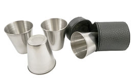 Metal cup Stock Photography
