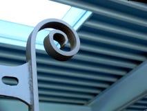 Metal curvado Fotografía de archivo
