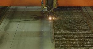 Metal cutter stock video
