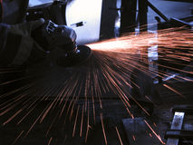 Metal cutting Stock Images