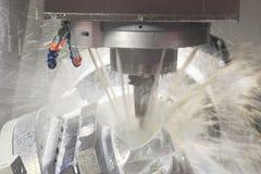 Metal cutting machine Stock Images