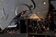 Metal cutting saw Stock Image