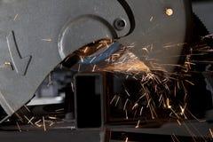 Metal cutting saw Stock Image