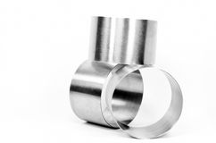 Metal cylinder Royalty Free Stock Photography