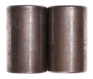 Metal cylinders. Stock Images