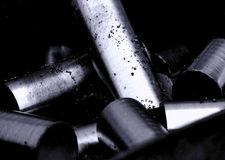 Metal Cylinders Royalty Free Stock Photo