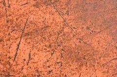 Metal danificado com oxidação Fotografia de Stock